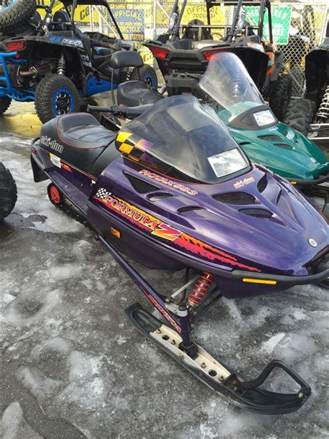 formula 3 skidoo used 1997 ski doo formula z 583 snowmobiles in phoenix ny