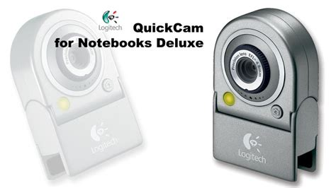 7780 Note Book Delue n logitech quickcam for notebooks deluxe w microphone