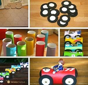 Fabriquer Un Personnage En Carton : fabriquer une petite voiture ~ Zukunftsfamilie.com Idées de Décoration