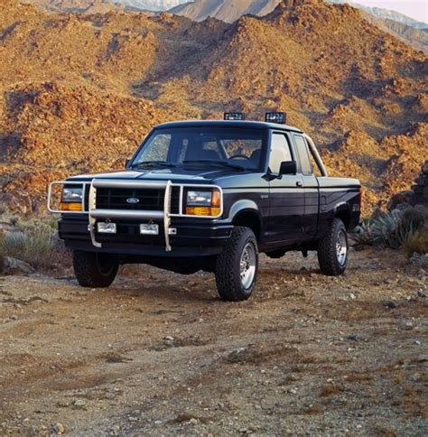 ford ranger  beginning  fords compact