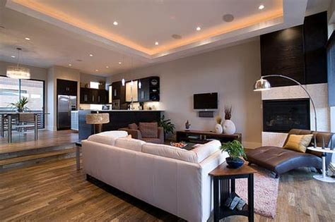Contemporary Home Design Decorating With Featuring White