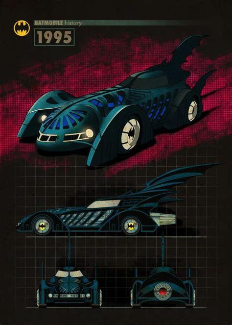 official batman batmobile   displate artwork