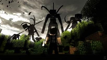 Minecraft Corrupted Slaves Wallpapers Speedart 4k Mine