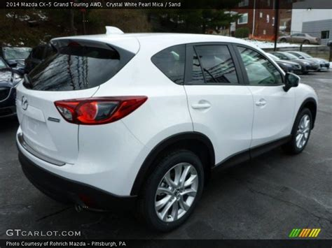 2014 Mazda Cx-5 Grand Touring Awd In Crystal White Pearl