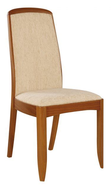 nathan teak fully upholstered dining chair dining chairs