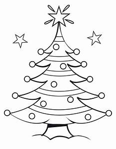 Free Coloring Pages: Christmas Tree Coloring Pages