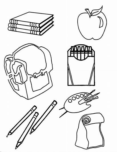 Coloring Pages Science Equipment Tools Printable Getcolorings
