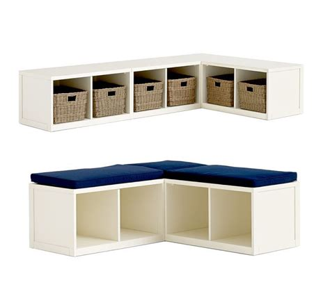 l shaped storage bench 1000 images about l shaped banquette on pinterest