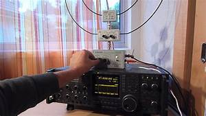 Active Loop Antenna Grahn With Sony Crf-330k And Icom R9000