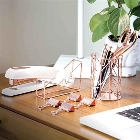 u brands desk accessory kit u brands desk accessory organization kit rose gold