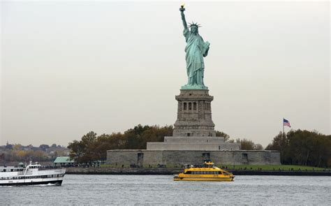 Ferry Boat Ride To Statue Of Liberty by Statue Of Liberty Mapio Net