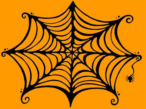 spider web drawing with spider spider web clip cliparts co