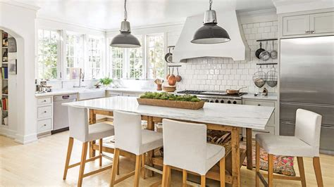 calm current natural kitchen  time favorite white kitchens southern living