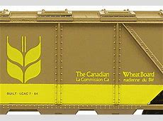 Canadian Wheat Board Lionel ® Covered Hopper LCAC ComCar