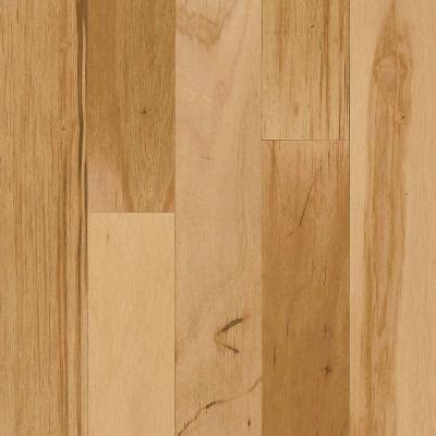 hardwood floor click and lock bruce hickory rustic natural click lock hardwood flooring 5 in x 7 in take home sle br