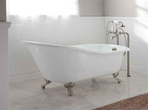 Clawfoot Tub Sizes by Best 25 Bathtub Dimensions Ideas On