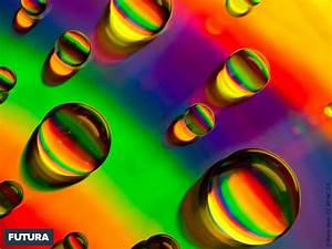 fond d39ecran perles d39eau fluo With plan de maison original 7 fond decran galaxie spirale
