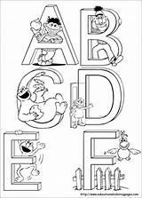 Elmo Coloring Printable Birthday sketch template