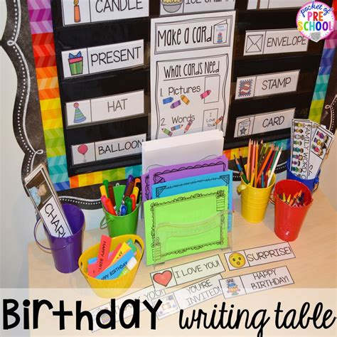 birthday themed centers amp activities for learners 384 | Slide10