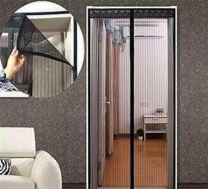 Vorhang Für Terrassentür : m ckenschutz t r magnet fliegengitter t r moskitonetz insektenschutz gr e 90 x 210 cm ~ Orissabook.com Haus und Dekorationen