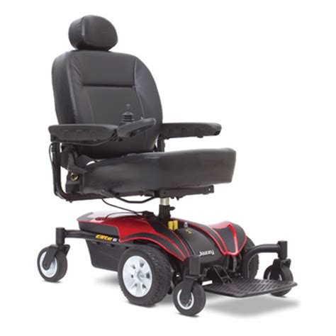 Jazzy Power Chairs Pride Jazzy Elite 6 Pride Front Wheel Drive Power Wheelchairs