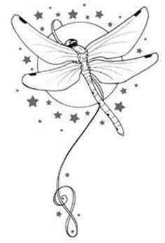 Tattoo Flash y bosquejos porción Metacharis en deviantART   Dragonfly drawing, Dragonfly art