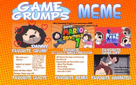 Game Grumps Memes - game grumps meme by mindishadikku on deviantart