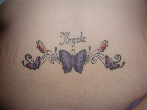 tatouages sur le bas du dos ou lombaires
