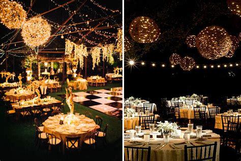 marzua bodas  luz ideas de iluminacion  bodas al