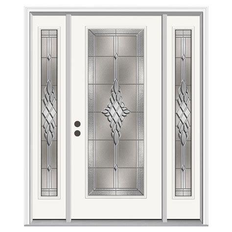 jeld wen entry doors jeld wen 66 in x 80 in lite hadley primed steel