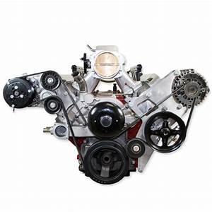Ls1  Ls3 Truck  U0026 39 99   Gen 5 Camaro 2010 Alternator  U0026 Power Steering Relocation Bracket