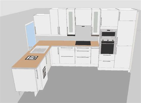 plan cuisine 3d en ligne plan cuisine en ligne plan cuisine en u avec bar u2013