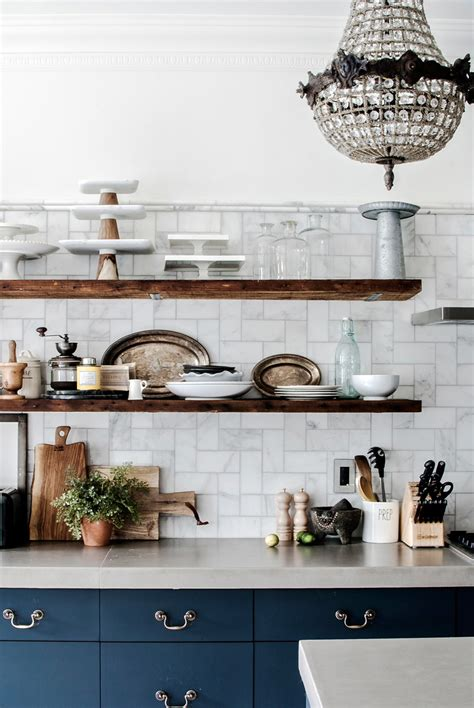 design sponge kitchen 10 lovely kitchens with open shelving 3209