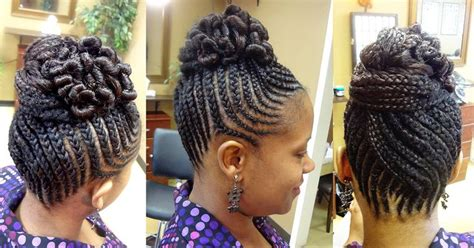 Natural Hair & Braid Styles
