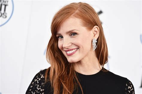 actress like jessica chastain jessica chastain wants more women on movie sets shera