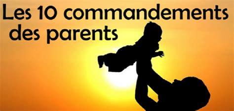tous les jeux de cuisine les 10 commandements des parents