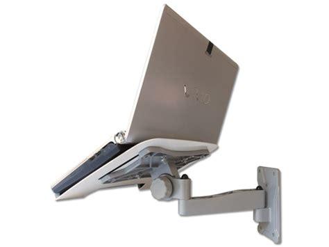 support mural ordinateur portable netbook notebook tablette pc portable support mural plaque adaptatrice ebay
