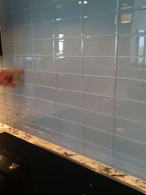 glass kitchen backsplash tile 68 best images about backsplashes on pinterest subway tile backsplash glasses and glass