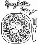 Coloring Spaghetti Espaguetis Meatballs Recipe Lot Dibujos Colorear Epic Drawing Favorite There Dozens Children Platos Macaroni Sheet Related Coloringpagesfortoddlers Resultado sketch template