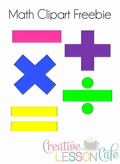 Math Symbols Clipart Words Key Clip Cliparts