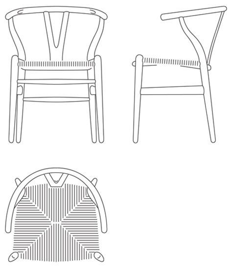 Danish Modern Sofa Table by Wishbone Chair Ch24 By Hans J Wegner Carl Hansen Amp S 248 N