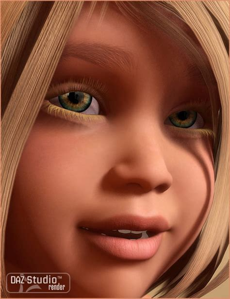 marissa for the 4 3d and 3d software by daz 3d
