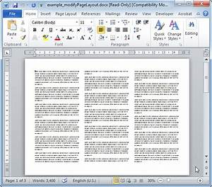 modifypagelayout modifies the word document layout phpdocx With word documents layouts