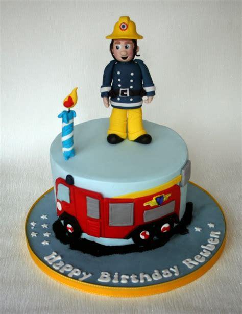 fireman cakes decoration ideas  birthday cakes