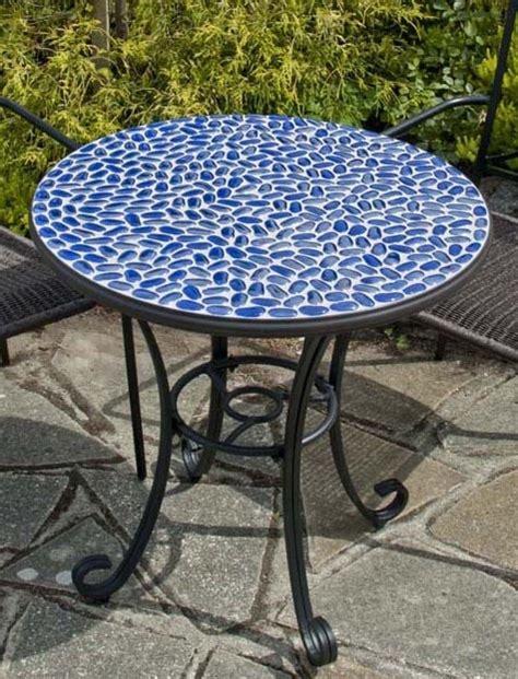 faro mosaic bistro table mosaic tile ideas