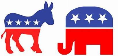 Republican Donkey Elephant Democratic Political Animals Donkeys