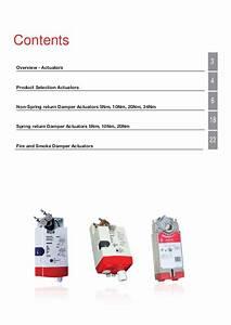 Catalog Actuator Damper Honeywell    U0110 U1ed9ng C U01a1  U0111i U1ec1u Khi U1ec3n Van