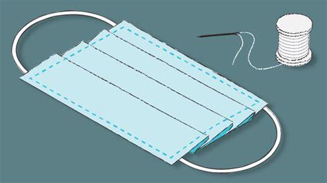coronavirus    face mask  fabric diy sewing