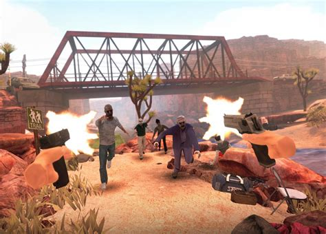quest oculus games sunshine vr arizona game zombie shooting horror aivanet tabletop simulator shooter combat zombies androidcentral use