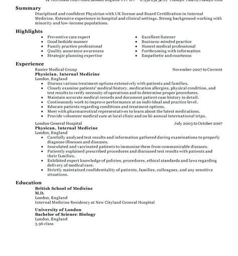 Sle Physician Resume by 12 13 Sle Physician Resume Lascazuelasphilly